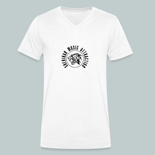 Sherikan Logo - Ekologisk T-shirt med V-ringning herr från Stanley & Stella