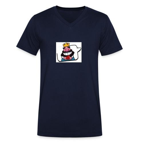 Cartoon - T-shirt ecologica da uomo con scollo a V di Stanley & Stella