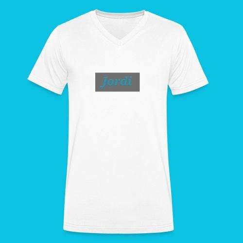 Jordi design - Men's Organic V-Neck T-Shirt by Stanley & Stella