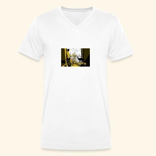 immagine cover - T-shirt ecologica da uomo con scollo a V di Stanley & Stella