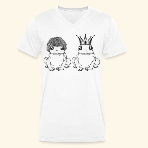 Crapaud - T-shirt bio col V Stanley & Stella Homme
