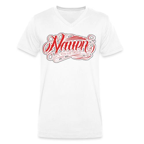 Nauen Rocker - Männer Bio-T-Shirt mit V-Ausschnitt von Stanley & Stella