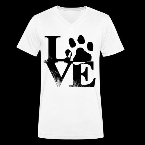 LOVE - T-shirt bio col V Stanley & Stella Homme