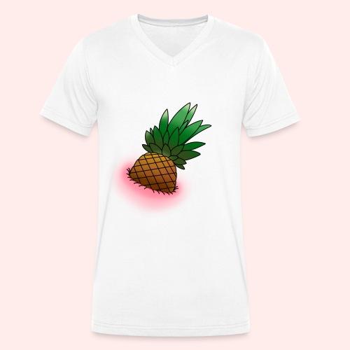 Pineapple - Männer Bio-T-Shirt mit V-Ausschnitt von Stanley & Stella