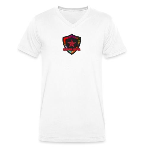 Super Star Design: Feel Special! - Men's Organic V-Neck T-Shirt by Stanley & Stella