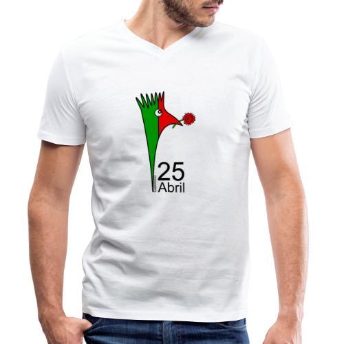 Galoloco - 25 Abril - Men's Organic V-Neck T-Shirt by Stanley & Stella