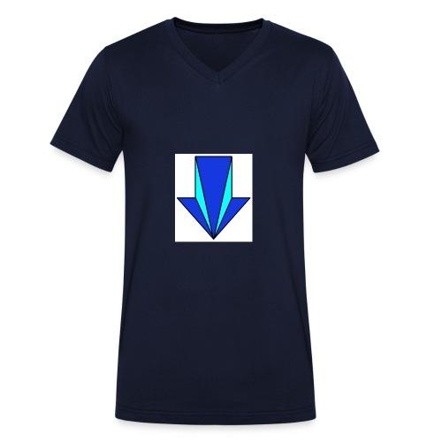 flecha - Camiseta ecológica hombre con cuello de pico de Stanley & Stella
