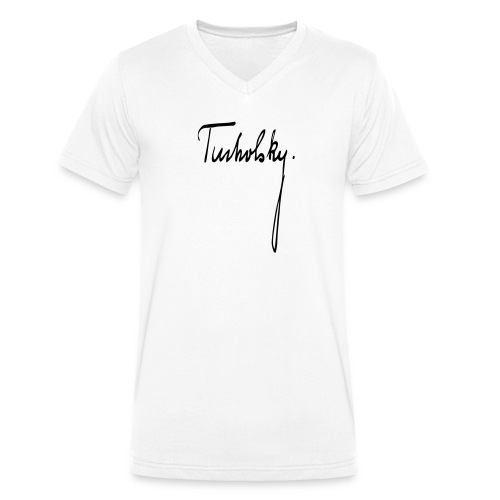 Kurt Tucholsky - Männer Bio-T-Shirt mit V-Ausschnitt von Stanley & Stella