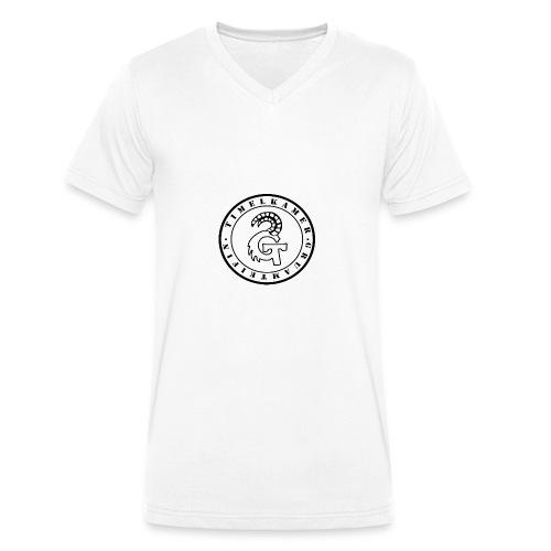 Logo transparent - Männer Bio-T-Shirt mit V-Ausschnitt von Stanley & Stella