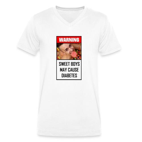 Sweet boys - Männer Bio-T-Shirt mit V-Ausschnitt von Stanley & Stella
