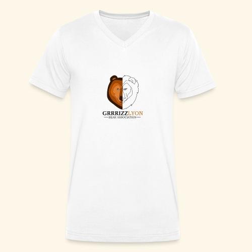 Grrrizzlyon - T-shirt bio col V Stanley & Stella Homme