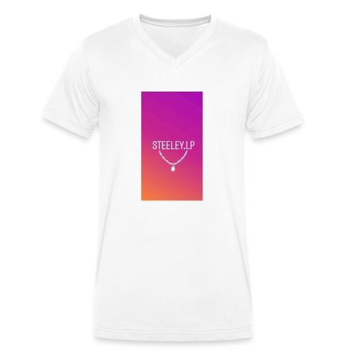 SteeleyLP👑 - Männer Bio-T-Shirt mit V-Ausschnitt von Stanley & Stella