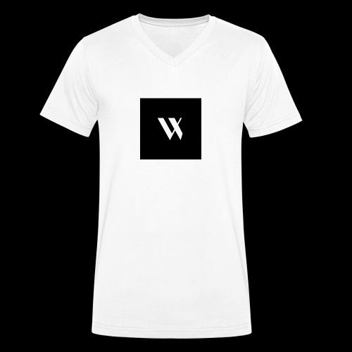 V I S T U D I O - T-shirt ecologica da uomo con scollo a V di Stanley & Stella