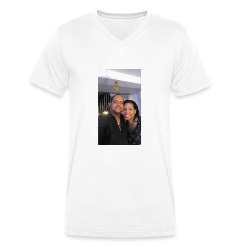 15844878 10211179303575556 4631377177266718710 o - Camiseta ecológica hombre con cuello de pico de Stanley & Stella