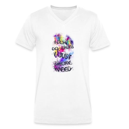 Just smoke - Männer Bio-T-Shirt mit V-Ausschnitt von Stanley & Stella