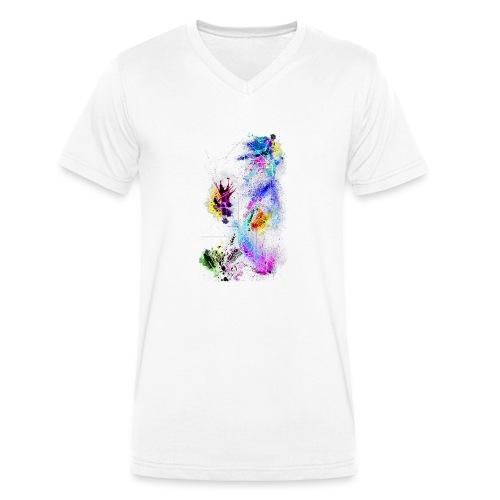 ModernArt - Männer Bio-T-Shirt mit V-Ausschnitt von Stanley & Stella
