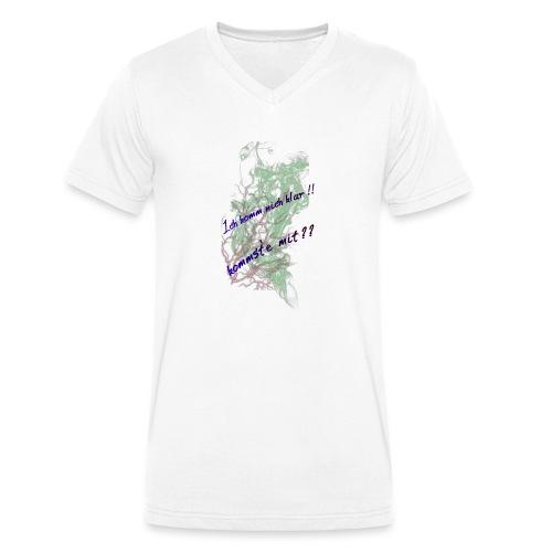 komm klar - Männer Bio-T-Shirt mit V-Ausschnitt von Stanley & Stella