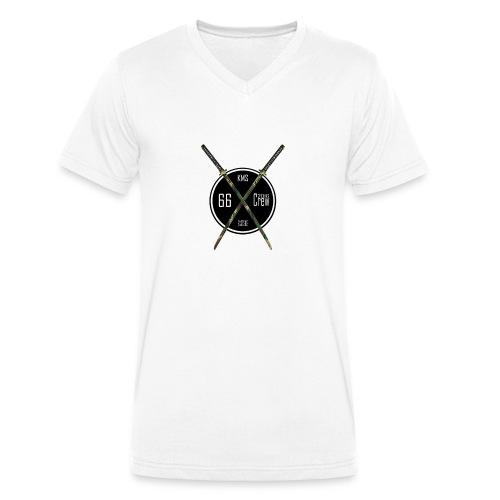 KMS/66Crew 2016 - Männer Bio-T-Shirt mit V-Ausschnitt von Stanley & Stella