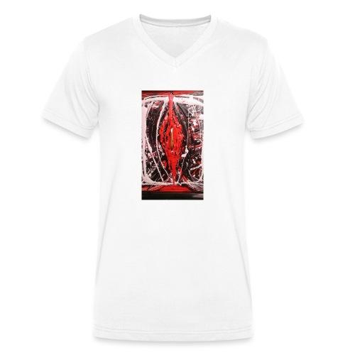 Loverfruit - T-shirt ecologica da uomo con scollo a V di Stanley & Stella