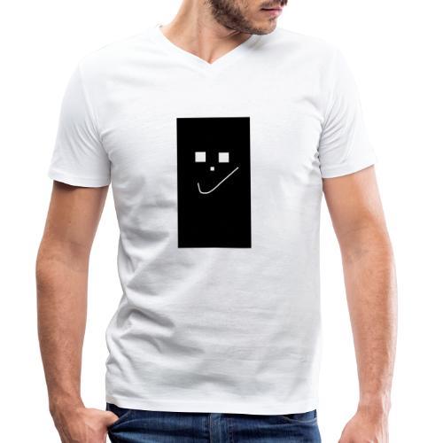 Smile :) - Männer Bio-T-Shirt mit V-Ausschnitt von Stanley & Stella