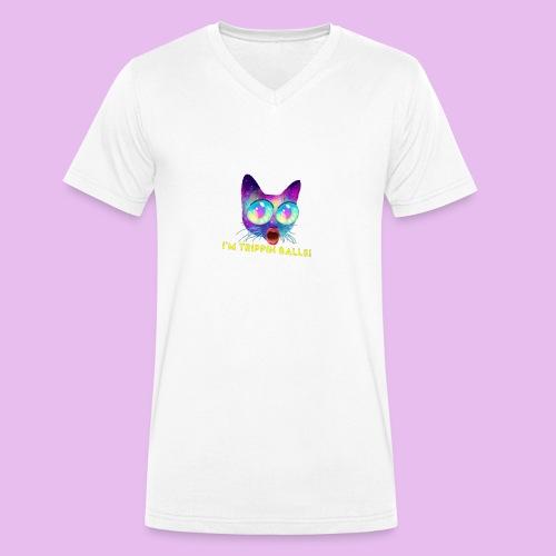 IMG 1056 - Ekologisk T-shirt med V-ringning herr från Stanley & Stella
