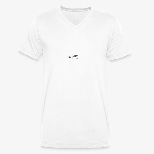 Awesome - Männer Bio-T-Shirt mit V-Ausschnitt von Stanley & Stella
