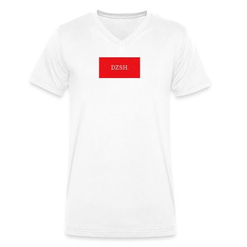 LOGO DZSH - Männer Bio-T-Shirt mit V-Ausschnitt von Stanley & Stella