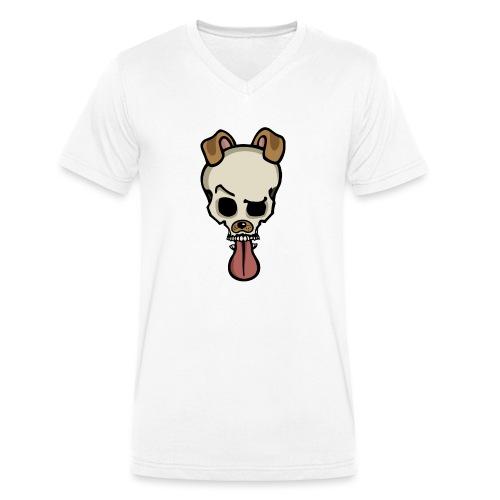 Snap-Skull - Männer Bio-T-Shirt mit V-Ausschnitt von Stanley & Stella