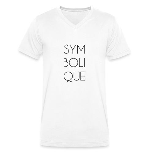 Symbolique - T-shirt bio col V Stanley & Stella Homme