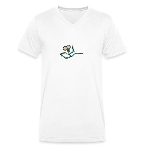 runner - Men's Organic V-Neck T-Shirt by Stanley & Stella