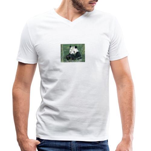 wiiiiiiiiiiiiiiiiie - Mannen bio T-shirt met V-hals van Stanley & Stella