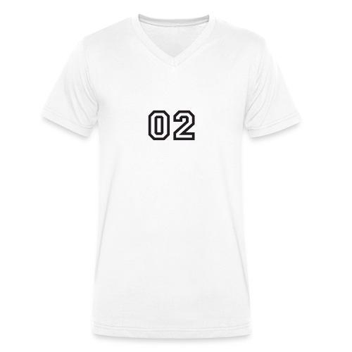 Praterhood Sportbekleidung - Männer Bio-T-Shirt mit V-Ausschnitt von Stanley & Stella