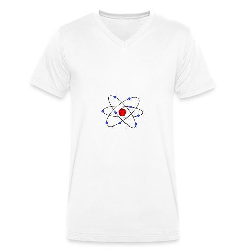 Física - Camiseta ecológica hombre con cuello de pico de Stanley & Stella