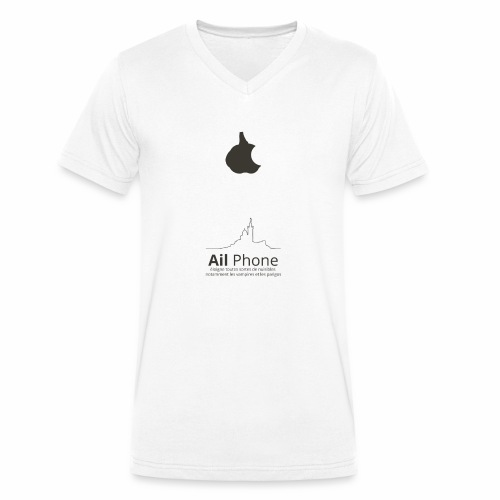 ailphoneok png - T-shirt bio col V Stanley & Stella Homme
