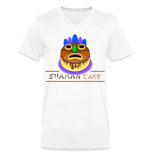 Shaman Cake Official - T-shirt ecologica da uomo con scollo a V di Stanley & Stella