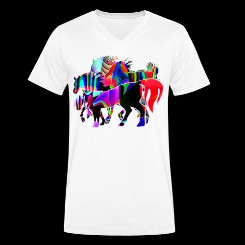 Die Familie - T-shirt bio col V Stanley & Stella Homme
