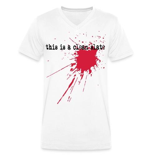 Clean Slate - Männer Bio-T-Shirt mit V-Ausschnitt von Stanley & Stella