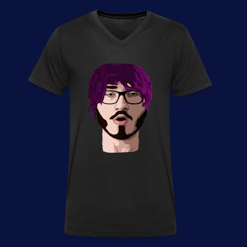 LIL YUNG CDTV (NO TEXT) - Men's Organic V-Neck T-Shirt by Stanley & Stella