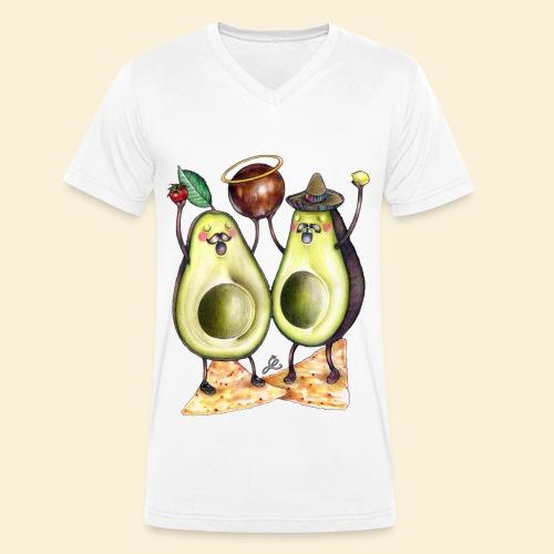 Holy Guacamole - Mannen bio T-shirt met V-hals van Stanley & Stella