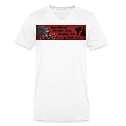 Guerillos United - Männer Bio-T-Shirt mit V-Ausschnitt von Stanley & Stella