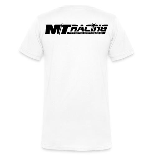 mt racing black - Ekologisk T-shirt med V-ringning herr från Stanley & Stella