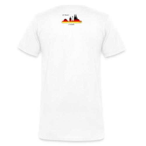sNo Balls png - Männer Bio-T-Shirt mit V-Ausschnitt von Stanley & Stella