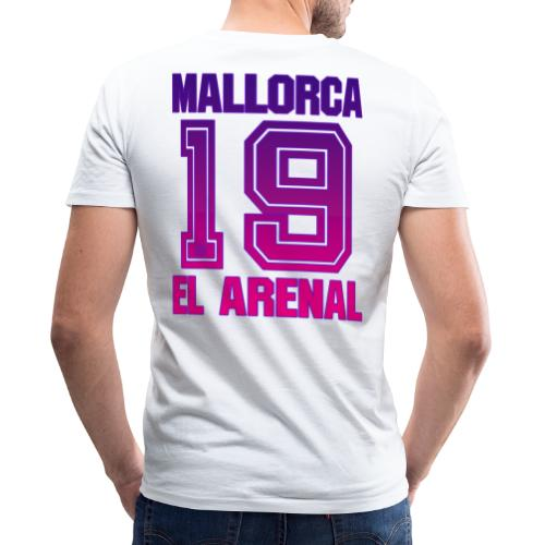 MALLORCA Shirt 2019 - Malle Shirts Damen Frauen 19 - Mannen bio T-shirt met V-hals van Stanley & Stella