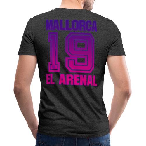 MALLORCA Overhemd 2019 - Malle Shirts Dames Dames 19 - Mannen bio T-shirt met V-hals van Stanley & Stella