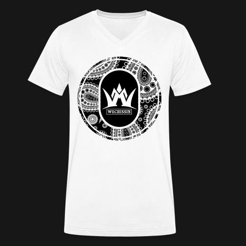 Wechissm classic Black png - T-shirt bio col V Stanley & Stella Homme