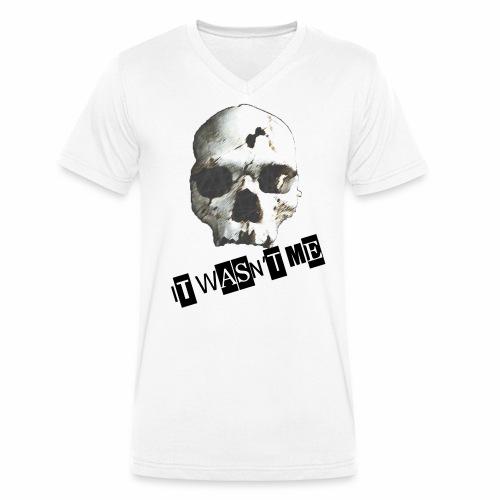 jr murder free2 png - Økologisk Stanley & Stella T-shirt med V-udskæring til herrer