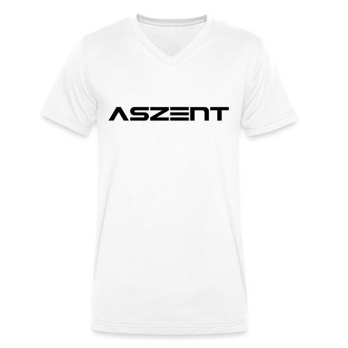 Aszent one-line - Männer Bio-T-Shirt mit V-Ausschnitt von Stanley & Stella