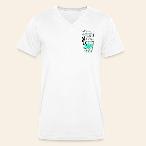 Shirt _MVSessions _ male - Mannen bio T-shirt met V-hals van Stanley & Stella