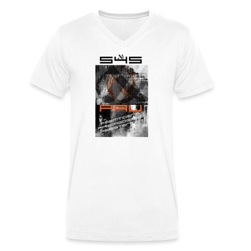 Logo 1 - Økologisk Stanley & Stella T-shirt med V-udskæring til herrer