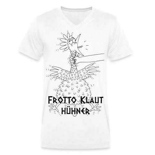 Frotto - Männer Bio-T-Shirt mit V-Ausschnitt von Stanley & Stella